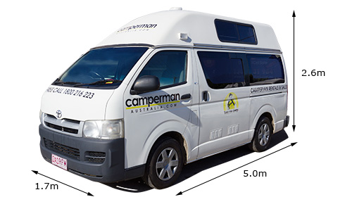 Juliette 5 Hightop Campervan