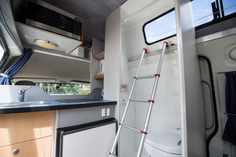 Campervan Shower Toilet Image